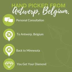Hand Picked From Antwerp. An Exclusive Diamond Experience Offer.